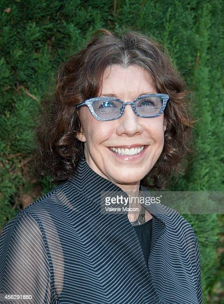 Actress Lily Tomlin arrives at The Rape Foundation's Annual Brunchat Greenacres The Private Estate of Ron Burkle on September 28 2014 in Beverly...