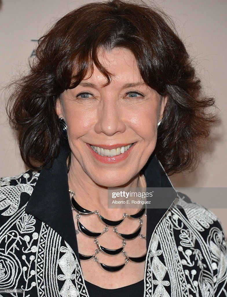 Actress Lily Tomlin arrives to the Academy of Television Arts & Sciences' Performers Peer Group Cocktail Reception at the Sheraton Hotel on August 20, 2012 in Universal City, California.