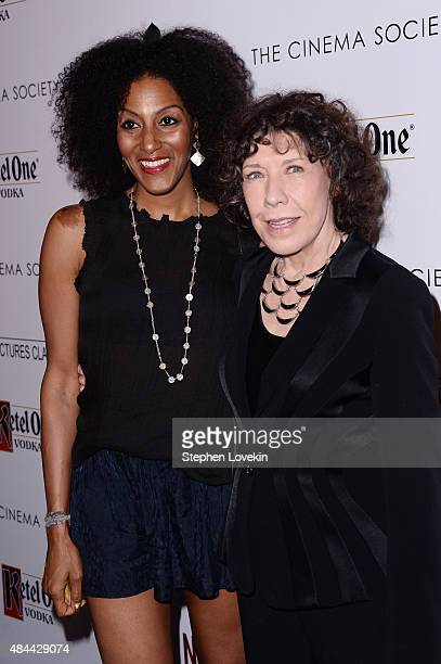 Actress Lily Tomlin attends a screening of Sony Pictures Classics' 'Grandma' hosted by The Cinema Society and Kate Spade at Landmark Sunshine Cinema...