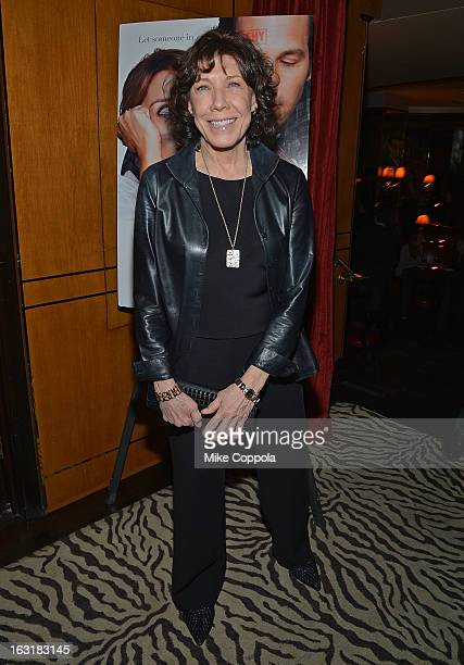 Actress Lily Tomlin attends Admission New York Premiere After Party at Monkey Bar on March 5 2013 in New York City