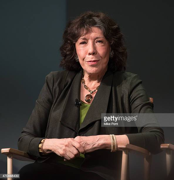 "Actress Lily Tomlin attends Apple Store Soho Presents Tribeca Film Festival: Paul Weitz, Lily Tomlin, and Julia Garner, ""Grandma"" at Apple Store Soho..."
