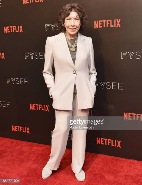 Actress Lily Tomlin attends Netflix's Grace and Frankie FYC Special Screening Event at Netflix FYSee Space on May 13 2017 in Beverly Hills California