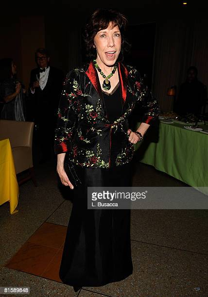 Actress Lily Tomlin attends the 62nd Annual Tony Awards after party on June 15 2008 at Rockefeller Center in New York City