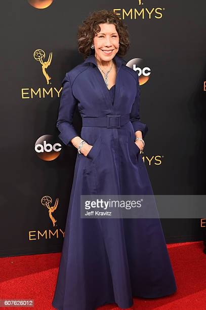 Actress Lily Tomlin attends the 68th Annual Primetime Emmy Awards at Microsoft Theater on September 18, 2016 in Los Angeles, California.