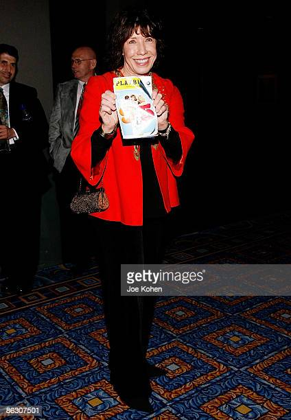 Actress Lily Tomlin attends the 9 to 5 The Musical Broadway opening night party at the Marriott Marquis on April 30 2009 in New York City