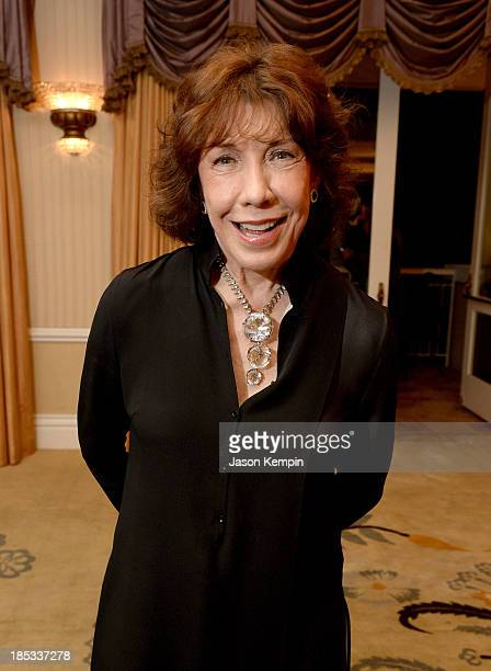 Actress Lily Tomlin attends the 9th Annual GLSEN Respect Awards at Beverly Hills Hotel on October 18, 2013 in Beverly Hills, California.