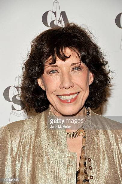 Actress Lily Tomlin attends the Casting Society of America's 26th Annual Artios Awards at the Hyatt Regency Century Plaza Hotel on November 1 2010 in...
