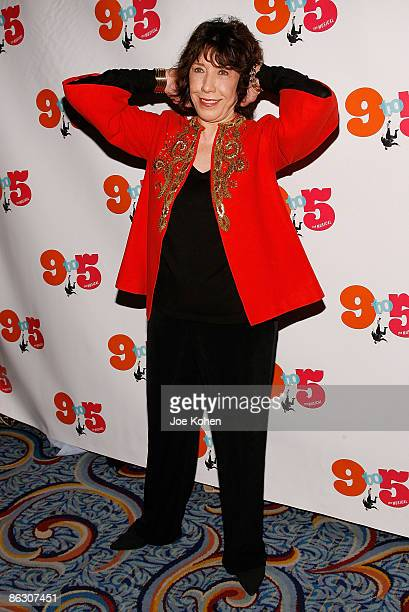 Actress Lily Tomlin attends the opening of 9 to 5 The Musical on Broadway at the Marriott Marquis Theatre on April 30 2009 in New York City