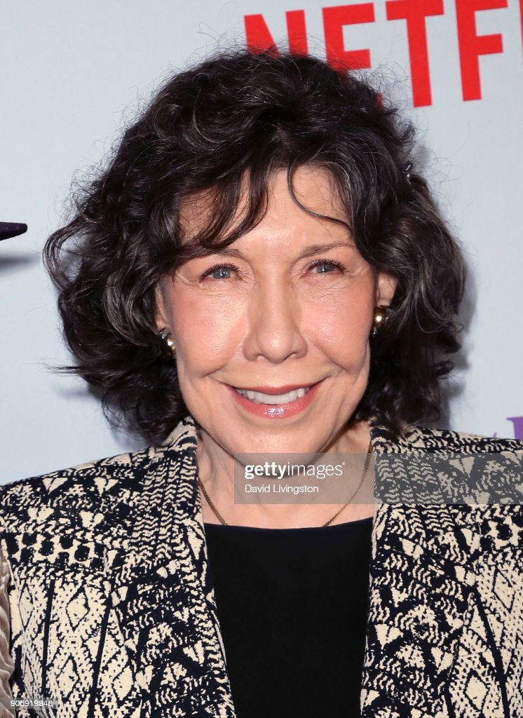 Actress Lily Tomlin attends the premiere of Netflix's 'Grace and Frankie' Season 4 at ArcLight Cinemas on January 18, 2018 in Culver City, California.