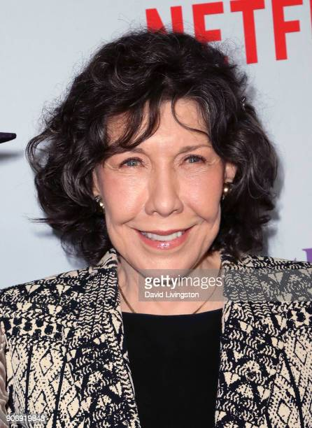 Actress Lily Tomlin attends the premiere of Netflix's Grace and Frankie Season 4 at ArcLight Cinemas on January 18 2018 in Culver City California