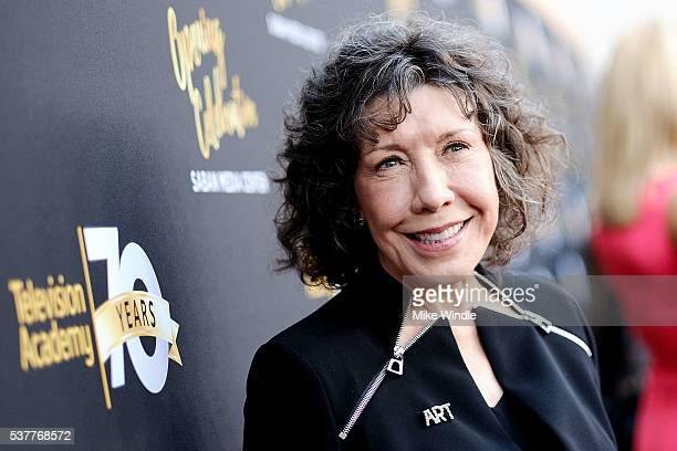 Actress Lily Tomlin attends the Television Academy's 70th Anniversary Gala on June 2 2016 in Los Angeles California
