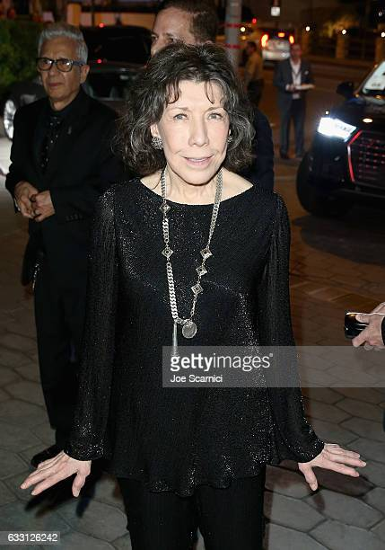 Actress Lily Tomlin attends The Weinstein Company & Netflix's SAG 2017 After Party presented by Audi at Sunset Tower Hotel on January 29, 2017 in...