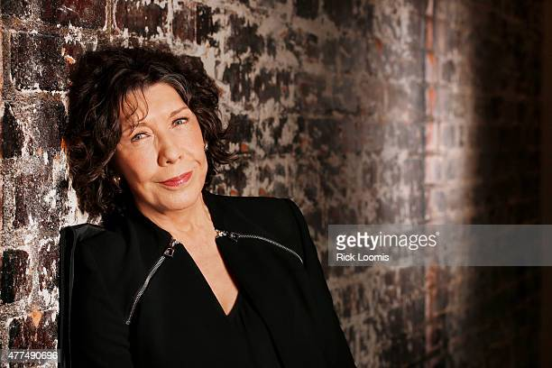 Actress Lily Tomlin is photographed for Los Angeles Times on May 26 2015 in Beverly Hills California PUBLISHED IMAGE CREDIT MUST READ Rick Loomis/Los...