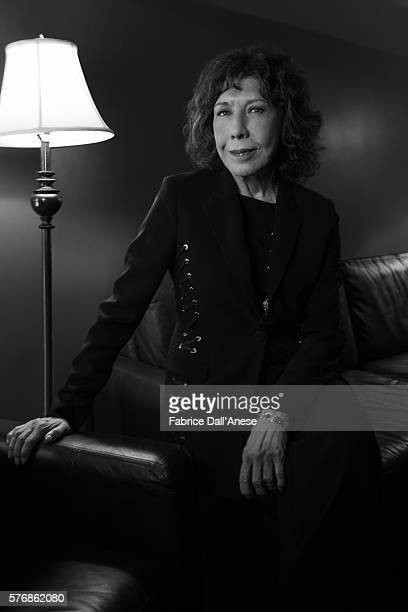 Actress Lily Tomlin is photographed for Vanity Faircom on April 19 2016 in New York City