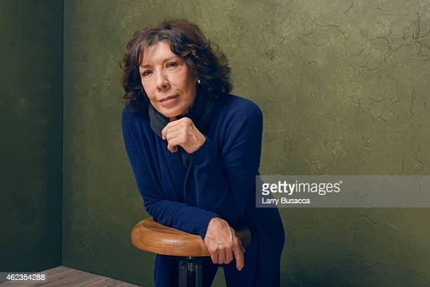 Actress Lily Tomlin of Grandma poses for a portrait at the Village at the Lift Presented by McDonald's McCafe during the 2015 Sundance Film Festival...