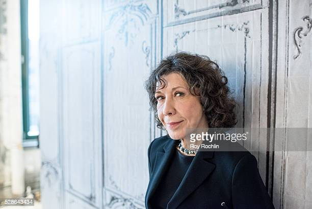 "Actress Lily Tomlin speaks about ""Grace And Frankie"" with AOL Build at AOL Studios In New York on May 6, 2016 in New York City."