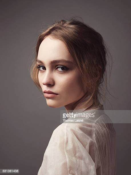 Actress LilyRose Depp is photographed for Self Assignment on May 14 2016 in Cannes France