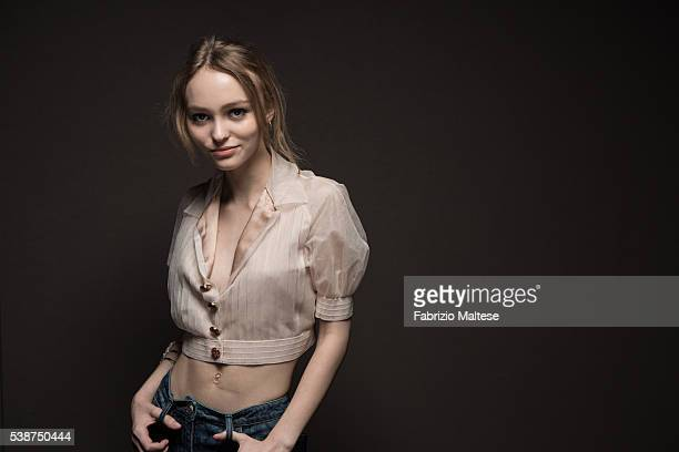 Actress LilyRose Depp is photographed for The Hollywood Reporter on May 14 2016 in Cannes France