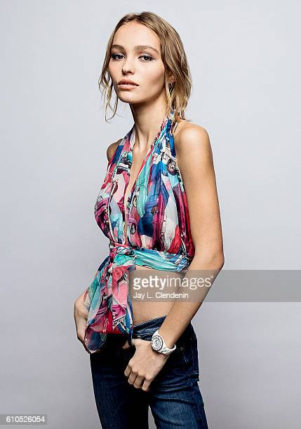 Actress LilyRose Depp of 'Planetarium' poses for a portraits at the Toronto International Film Festival for Los Angeles Times on September 11 2016 in...