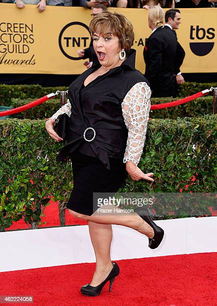 Actress Lin Tucci attends the 21st Annual Screen Actors Guild Awards at The Shrine Auditorium on January 25 2015 in Los Angeles California