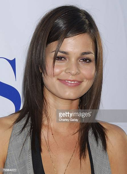 Actress Lina Esco arrives at the CBS Summer Press Tour Stars Party 2007 on the great lawn at the Wadsworth Theater on July 19 2007 in Los Angeles...