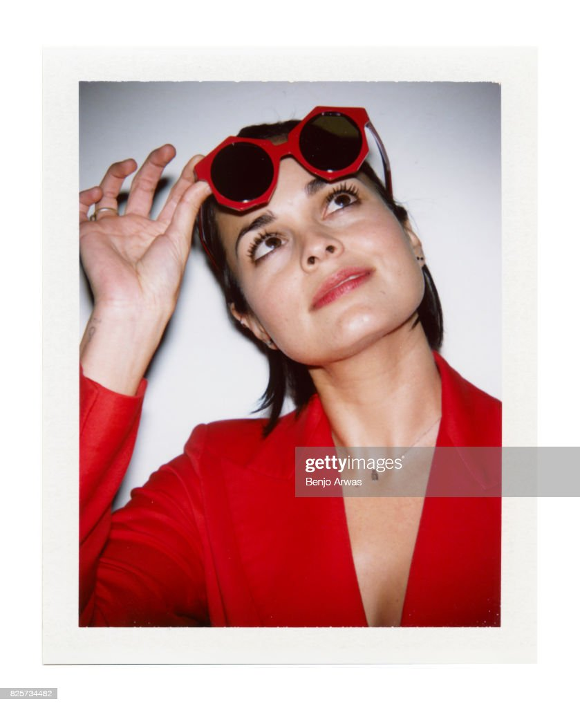 Actress Lina Esco of CBS's 'S.W.A.T.' is photographed on polaroid film during the 2017 Summer Television Critics Association Press Tour at The Beverly Hilton Hotel on August 1, 2017 in Beverly Hills, California.
