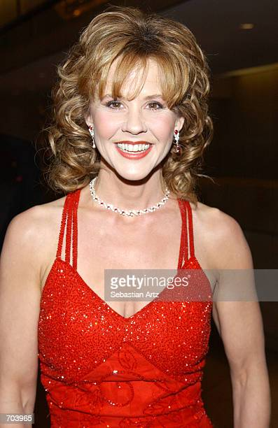 Actress Linda Blair attends the 16th Annual Genesis Awards at The Beverly Hilton Hotel March 16 2002 in Beverly Hills CA