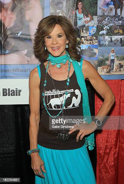 Actress Linda Blair attends the Las Vegas Comic Expo at the Riviera Hotel Casino on September 28 2013 in Las Vegas Nevada