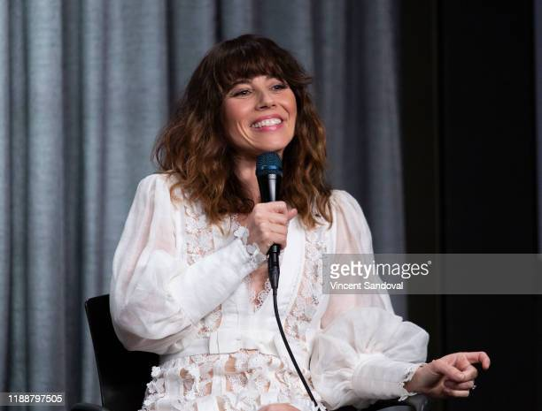Actress Linda Cardellini attends SAGAFTRA Foundation Conversations with Dead To Me at SAGAFTRA Foundation Screening Room on November 19 2019 in Los...