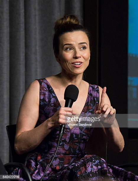Actress Linda Cardellini attends SAGAFTRA Foundation Conversations for Bloodline at SAGAFTRA Foundation on June 14 2016 in Los Angeles California