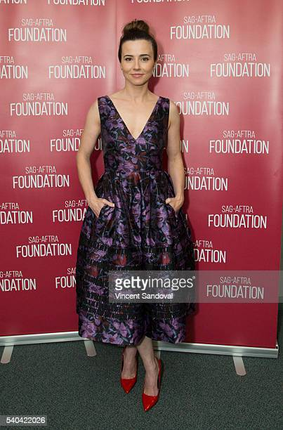 Actress Linda Cardellini attends SAGAFTRA Foundation Conversations for 'Bloodline' at SAGAFTRA Foundation on June 14 2016 in Los Angeles California