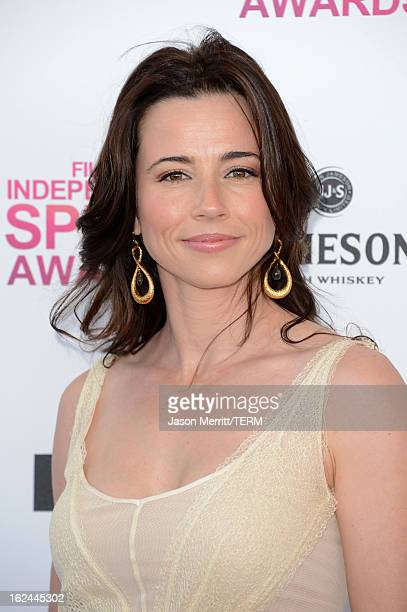 Actress Linda Cardellini attends the 2013 Film Independent Spirit Awards at Santa Monica Beach on February 23 2013 in Santa Monica California