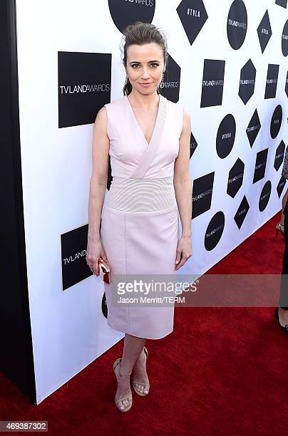 Actress Linda Cardellini attends the 2015 TV Land Awards at Saban Theatre on April 11 2015 in Beverly Hills California