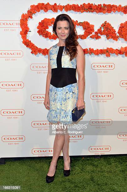 Actress Linda Cardellini attends the 3rd Annual Coach Evening to benefit Children's Defense Fund at Bad Robot on April 10 2013 in Santa Monica...