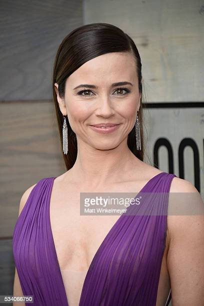 """Actress Linda Cardellini attends the Premiere of Netflix's """"Bloodline"""" at Westwood Village Theatre on May 24, 2016 in Westwood, California."""