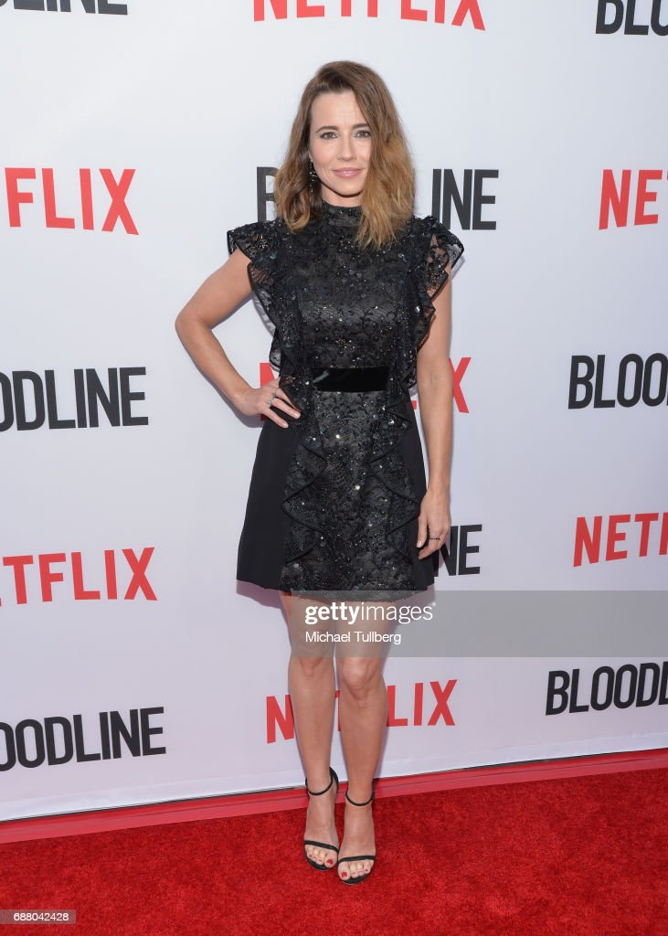 Actress Linda Cardellini attends the premiere of Netflix's 'Bloodline' Season 3 at Arclight Cinemas Culver City on May 24, 2017 in Culver City, California.