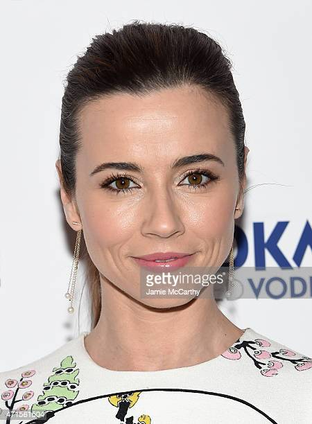 """Actress Linda Cardellini attends the """"Welcome To Me"""" New York Premiere at the Sunshine Landmark on April 29, 2015 in New York City."""