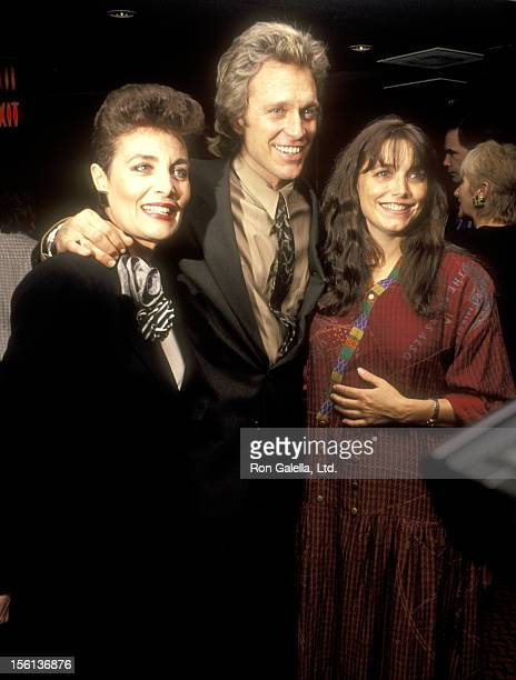 Actress Linda Dano Actor Kale Browne Actress Karen Allen attend The Casting Society of America's Sixth Annual Artios Awards on January 31 1990 at...
