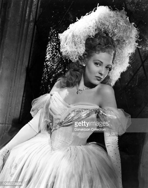 Actress Linda Darnell in a scene from the movie Forever Amber