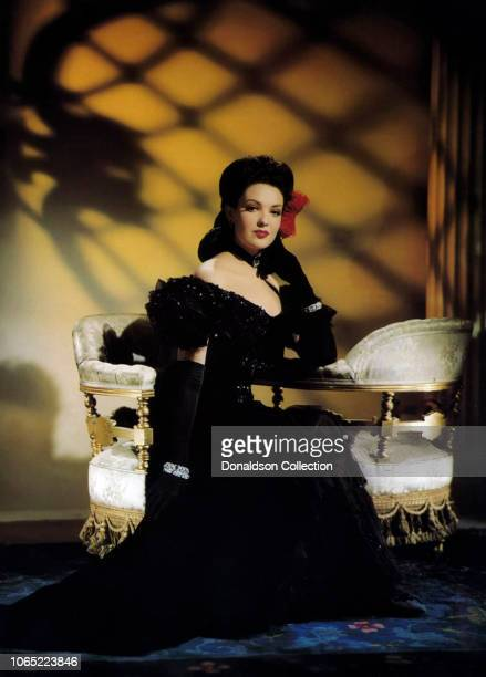 Actress Linda Darnell in a scene from the movie Hangover Square