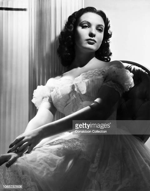 Actress Linda Darnell in a scene from the movie Star Dust