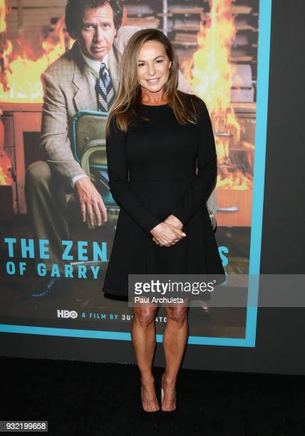 Actress Linda Doucett attends the screening of HBO's The Zen Diaries Of Garry Shandling at Avalon on March 14 2018 in Hollywood California