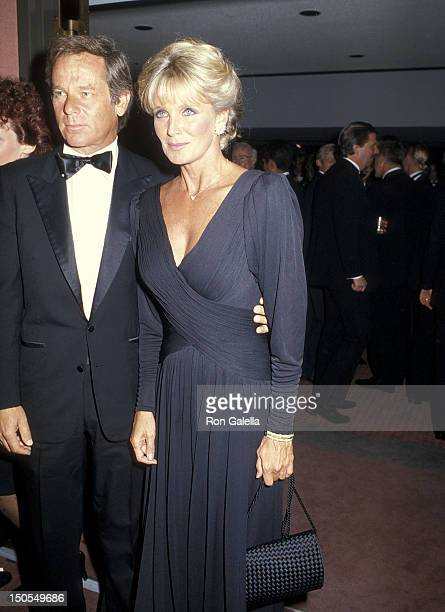 Actress Linda Evans and boyfriend Richard Cohen attend the First Annual 'Commitment to Life' Gala Benefit AIDS Project Los Angeles on September 19...