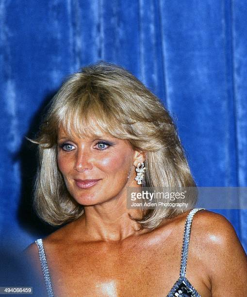 Actress Linda Evans attends the 35th Annual Primetime Emmy Awards held at the Pasadena Civic Auditorium on September 25 1983 in Pasadena California