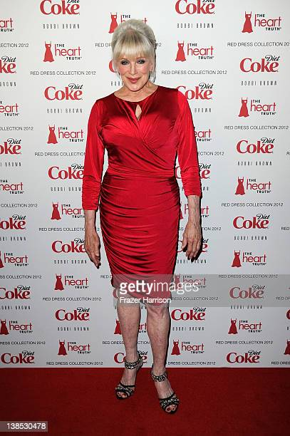 Actress Linda Evans attends the Heart Truth's Red Dress Collection 2012 Fashion Show at Hammerstein Ballroom on February 8 2012 in New York City