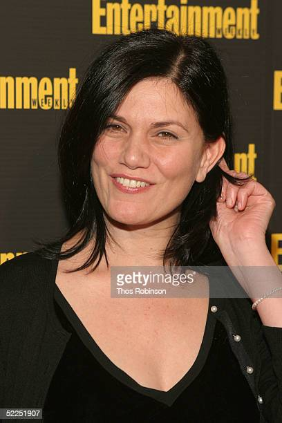 Actress Linda Fiorentino attends Entertainment Weekly's Oscar Viewing Party at Elaine's on February 27 2005 in New York City