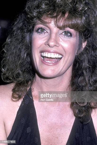 Actress Linda Gray attends the 33rd Annual Primetime Emmy Awards After Party on September 13 1981 at the Century Plaza Hotel in Century City...