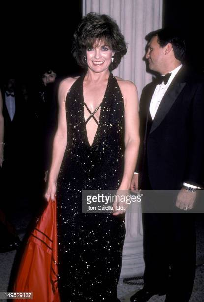 Actress Linda Gray attends the Metropolitan Museum of Art's Costume Institute Gala Exhibition of Yves Saint Laurent 25 Years of Design on December 5...