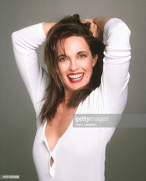 Actress Linda Gray poses for a portrait in 1988 in Los Angeles California