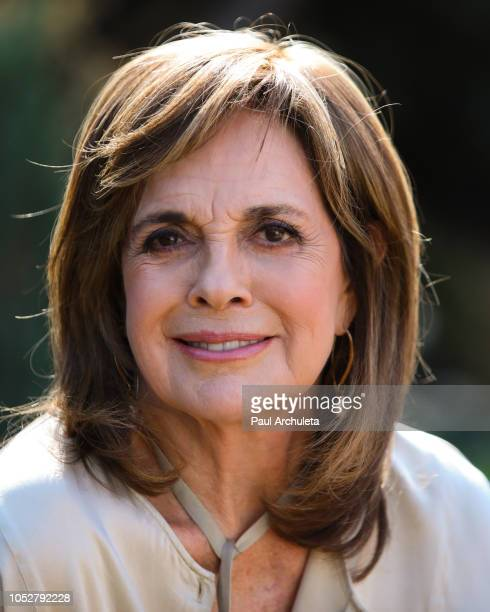 Actress Linda Gray visits Hallmark's 'Home Family' at Universal Studios Hollywood on October 22 2018 in Universal City California
